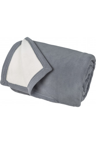 Ref NARVIK - Couverture polaire luxe, 100% polyester