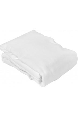 Protège matelas molleton 100% coton très épais, forme drap housse