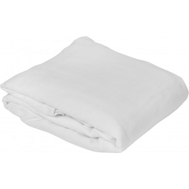 Protège matelas molleton 100% coton épais, forme drap housse bonnet 30cm