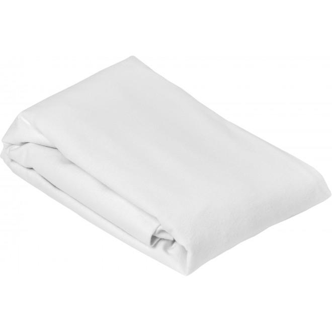 Protège matelas imperméable molleton, forme drap housse bonnet 30cm, molleton 100% coton PU