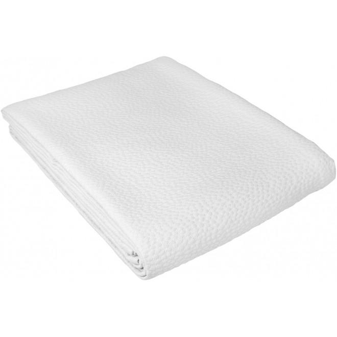 Dessus de lit tissage jacquard 80% coton 20% polyester