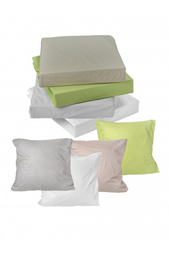 Ref DUO - Drap housse TENCEL & protection imper 2 en 1.