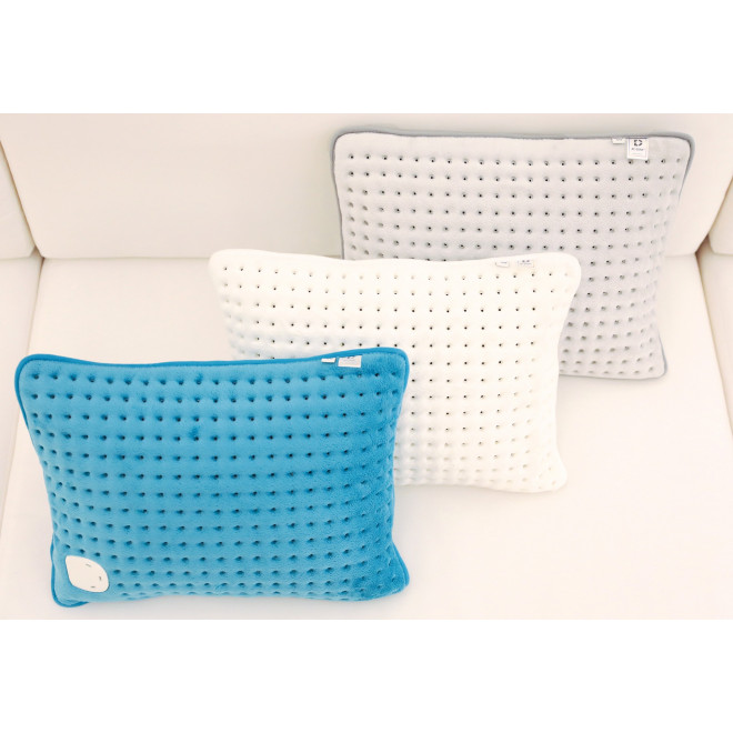 Coussin chauffant cocooning déhoussable