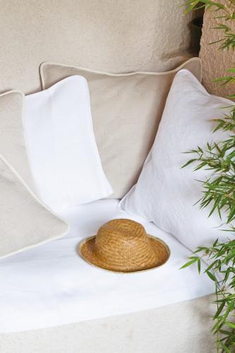 couvre lit piqué de coton