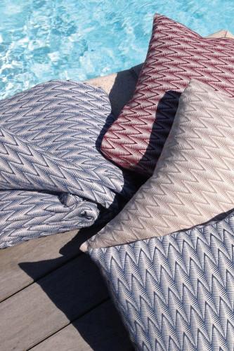 Dessus de lit 100% coton peigné stonewashed