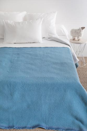 Toison d'or - Couverture laine double face 100% laine Woolmark - 500g/m²