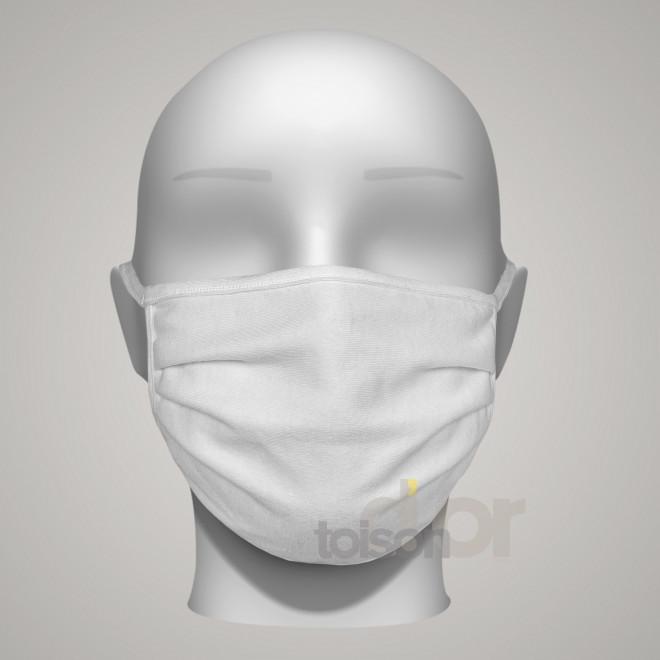 Toison d'or - Lot de 10 Masques de protection catégorie 1 lavables - Ne contient aucune substance nocive