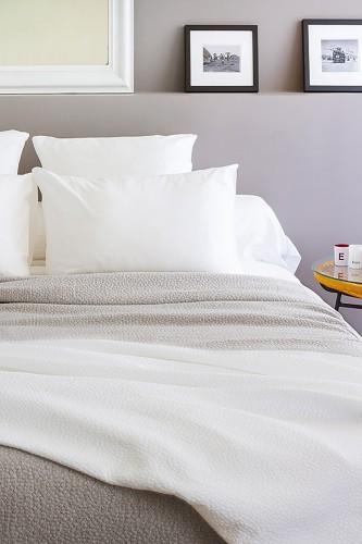 Couvre-lits en coton mélangé