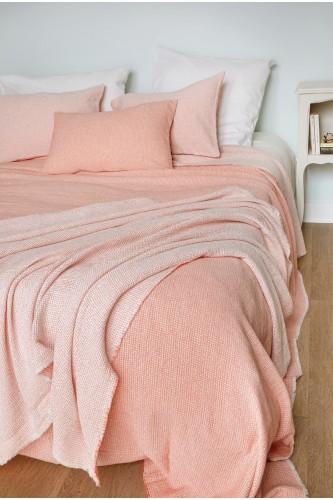 Jetés de lit en 100% coton